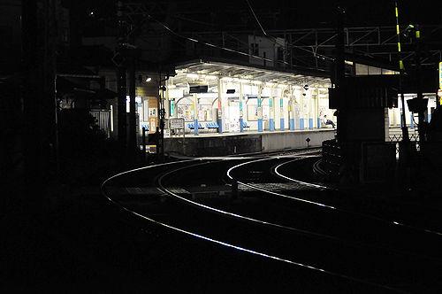 今日の一枚「Station In the Dark」