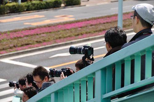 今日の一枚「カメラマンたち」