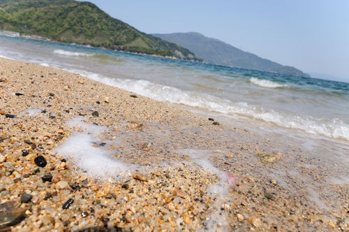 今日の一枚「小石の砂浜」